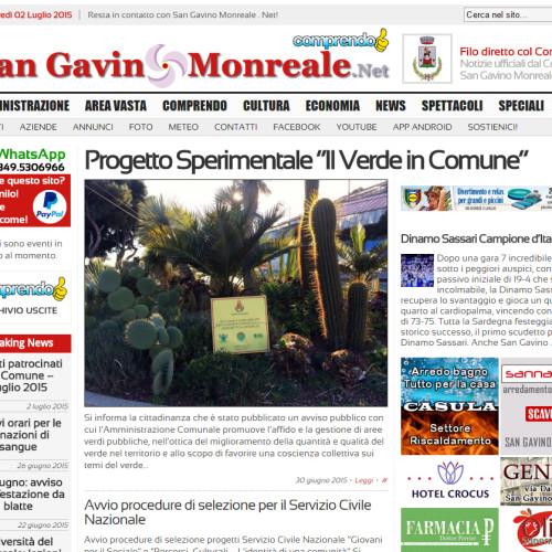 San Gavino Monreale . Net