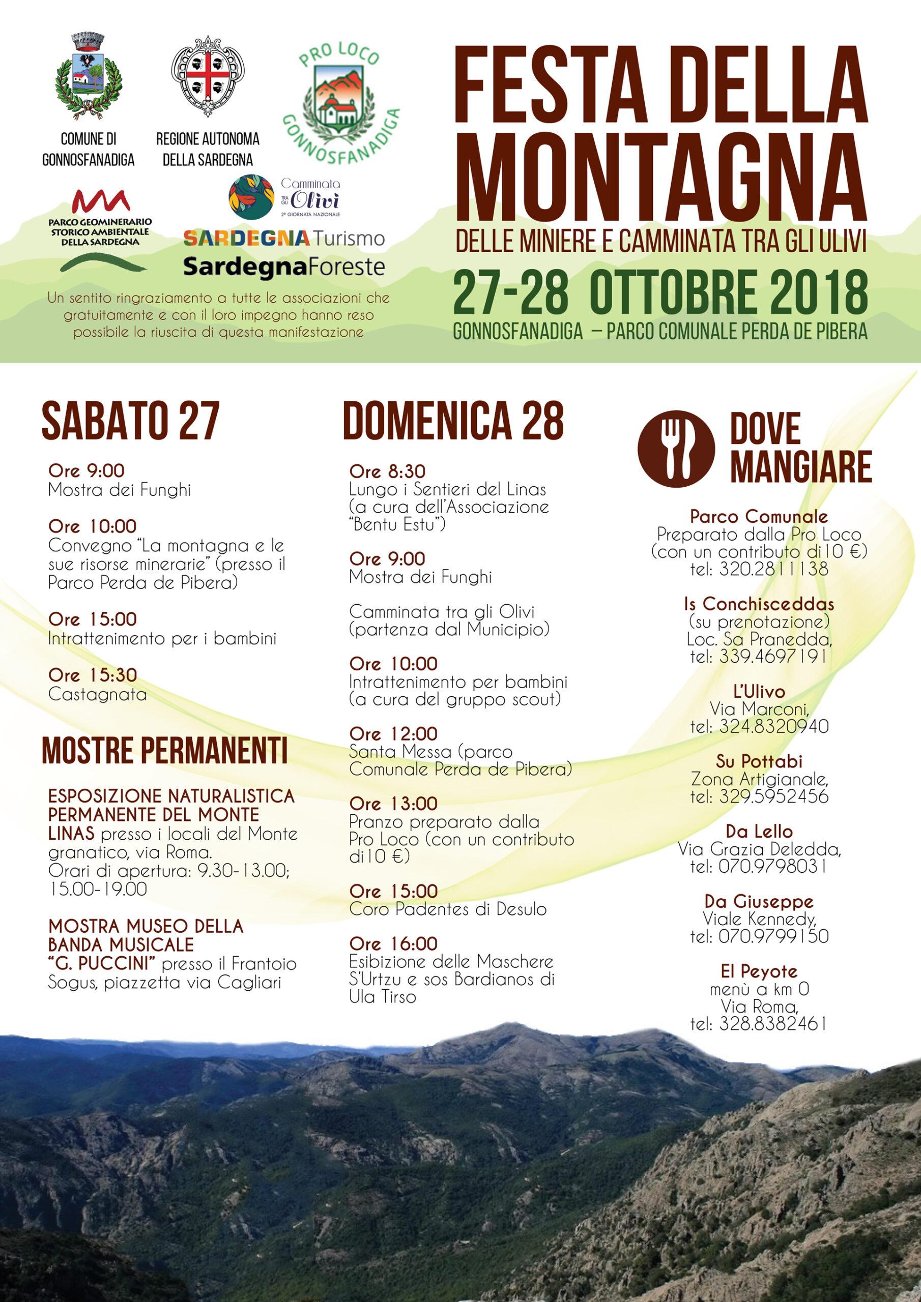 Festa della Montagna Gonnosfanadiga